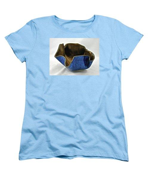 Paper-thin Bowl  09-005 Women's T-Shirt (Standard Cut) by Mario Perron