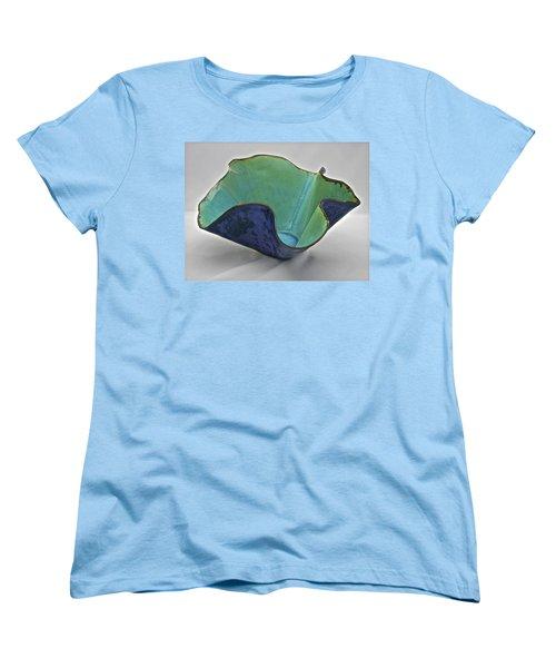 Paper-thin Bowl  09-006 Women's T-Shirt (Standard Cut) by Mario Perron