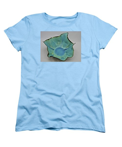 Women's T-Shirt (Standard Cut) featuring the sculpture Paper-thin Bowl  09-008 by Mario Perron