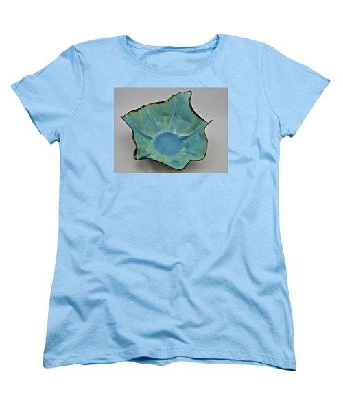 Paper-thin Bowl  09-008 Women's T-Shirt (Standard Cut) by Mario Perron