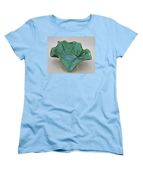 Paper-thin Bowl  09-009 Women's T-Shirt (Standard Cut) by Mario Perron