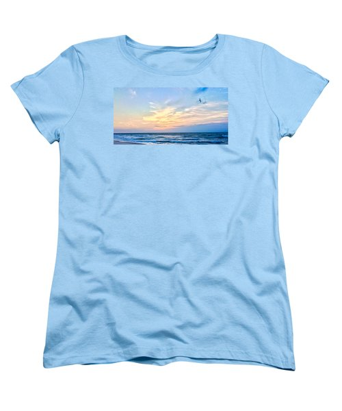 Paraclete At Sunrise  Women's T-Shirt (Standard Cut) by Mary Ward