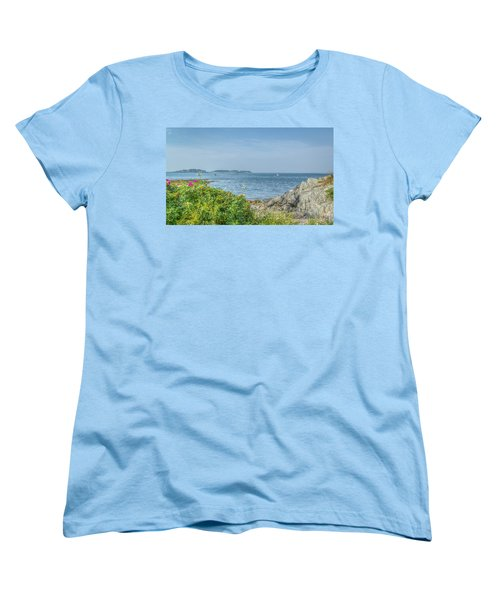 Women's T-Shirt (Standard Cut) featuring the photograph Path To The Cove by Jane Luxton