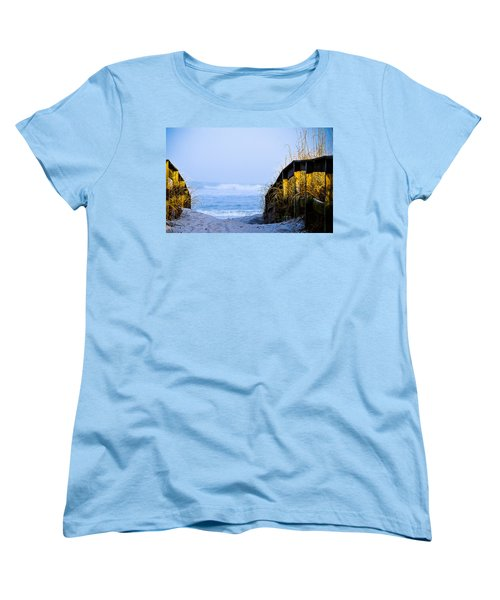 Pathway To Happiness Women's T-Shirt (Standard Cut) by Mary Ward