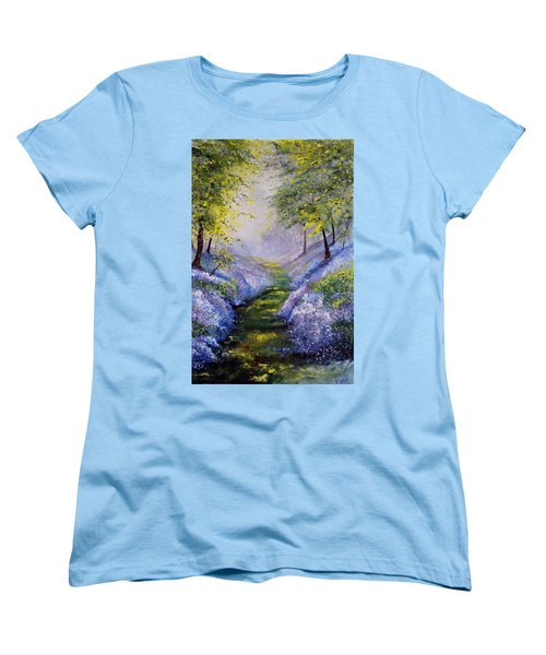 Pavilioned In Splendor Women's T-Shirt (Standard Cut) by Meaghan Troup