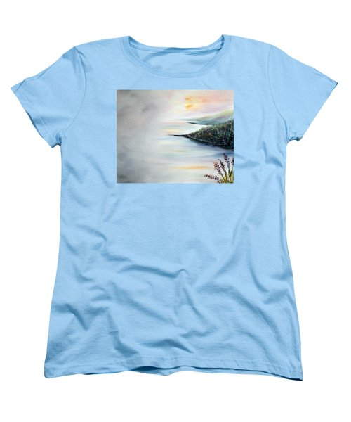 Women's T-Shirt (Standard Cut) featuring the painting Peace by Meaghan Troup