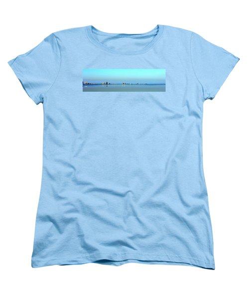 Peaceful Pensacola Beach Women's T-Shirt (Standard Cut) by Faith Williams