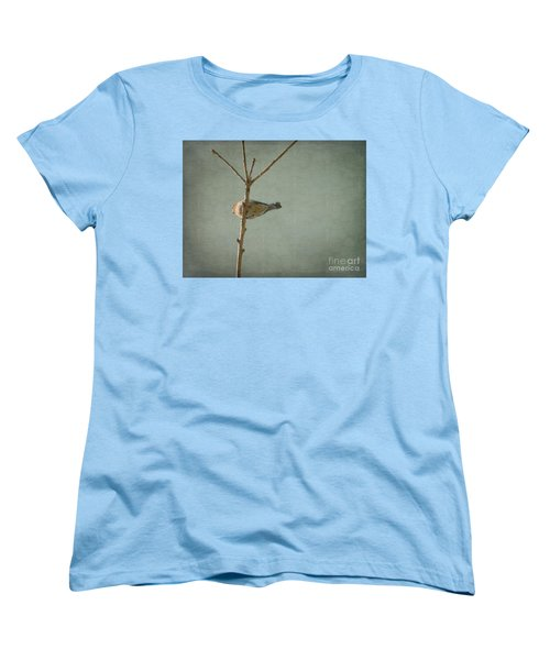 Peaceful Perch Women's T-Shirt (Standard Cut) by Meghan at FireBonnet Art