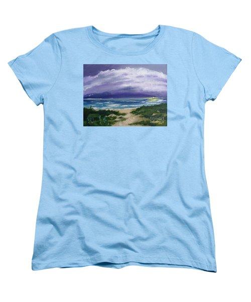 Peaceful Sunrise Women's T-Shirt (Standard Cut)