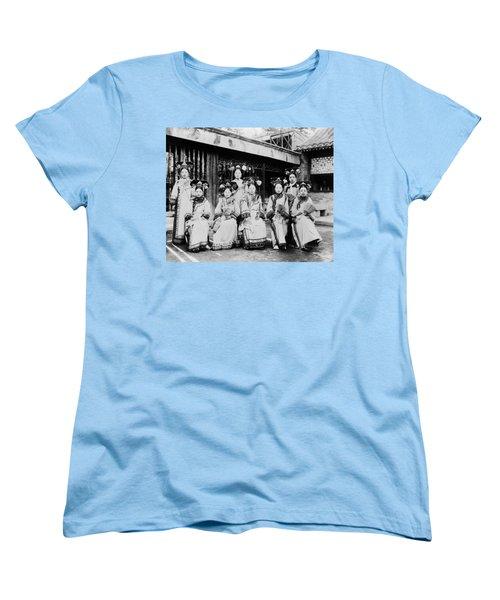 Women's T-Shirt (Standard Cut) featuring the photograph Peking Palace Women by Granger
