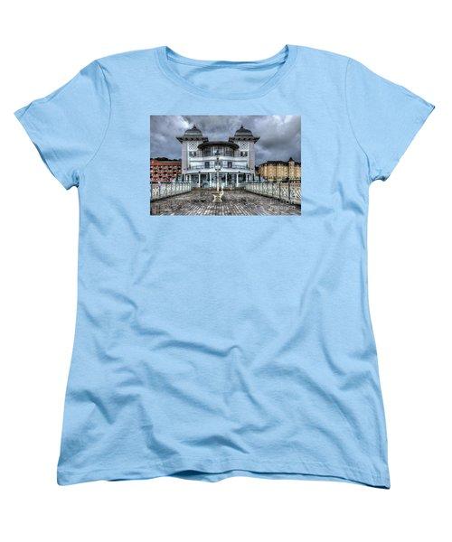 Penarth Pier Pavilion 2 Women's T-Shirt (Standard Cut) by Steve Purnell