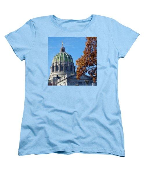 Pennsylvania Capitol Building Women's T-Shirt (Standard Cut) by Joseph Skompski