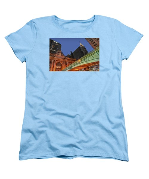Pershing Square Women's T-Shirt (Standard Cut) by Susan Candelario