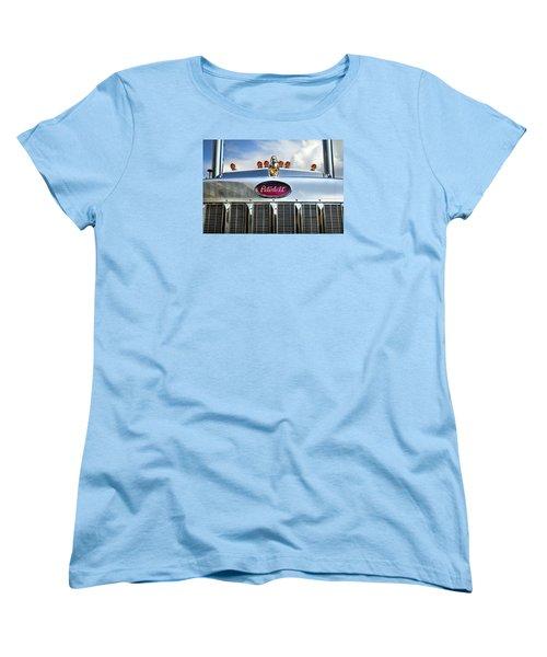 Peterbilt Women's T-Shirt (Standard Cut) by Theresa Tahara