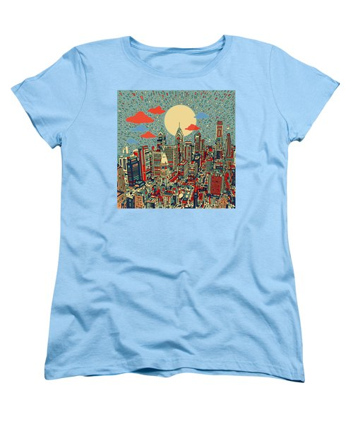 Philadelphia Dream 2 Women's T-Shirt (Standard Cut) by Bekim Art
