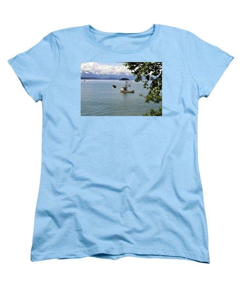 Photo Bomb Women's T-Shirt (Standard Cut)