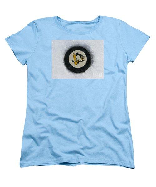 Pittsburgh Penguins Women's T-Shirt (Standard Cut) by Michael Krek