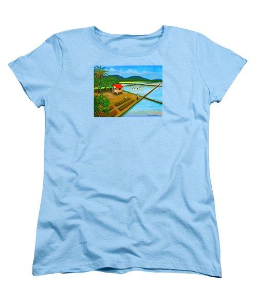 Planting Season Women's T-Shirt (Standard Cut) by Cyril Maza