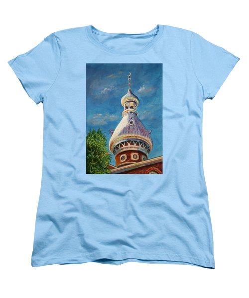 Play Of Light - University Of Tampa Women's T-Shirt (Standard Cut) by Roxanne Tobaison