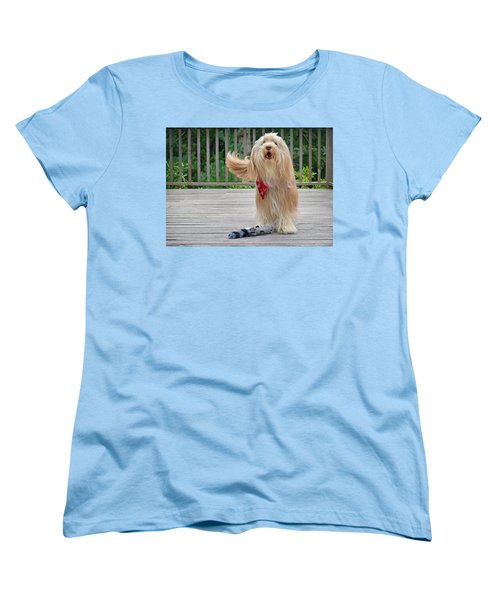 Play With Me Women's T-Shirt (Standard Cut) by Keith Armstrong