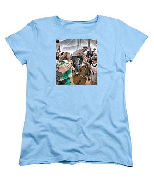 The Lost Bayou Ramblers Pleasing The Crowd Women's T-Shirt (Standard Cut)