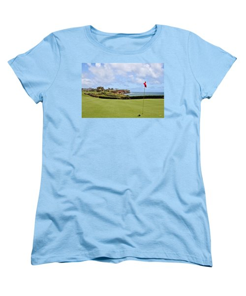 Poipu Bay #16 Women's T-Shirt (Standard Cut) by Scott Pellegrin