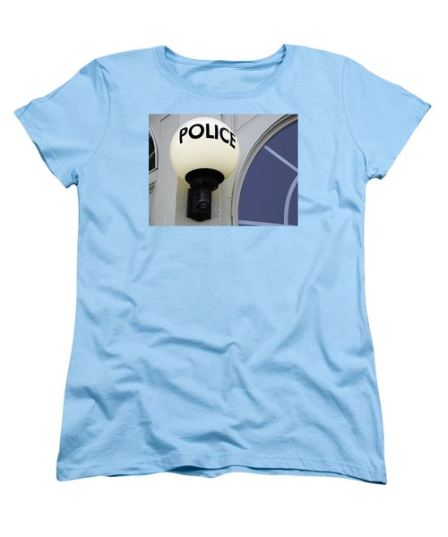 Police Station Women's T-Shirt (Standard Cut) by Phil Cardamone