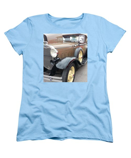 Women's T-Shirt (Standard Cut) featuring the photograph Polished by Caryl J Bohn