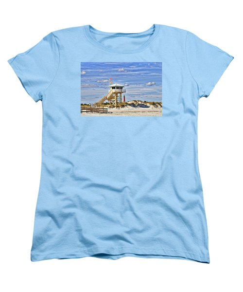 Ponce Inlet Scenic Women's T-Shirt (Standard Cut) by Alice Gipson