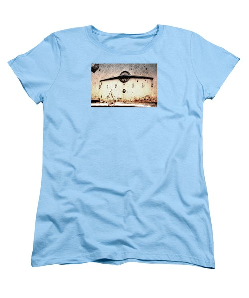 Women's T-Shirt (Standard Cut) featuring the photograph Pontiac by Rebecca Davis