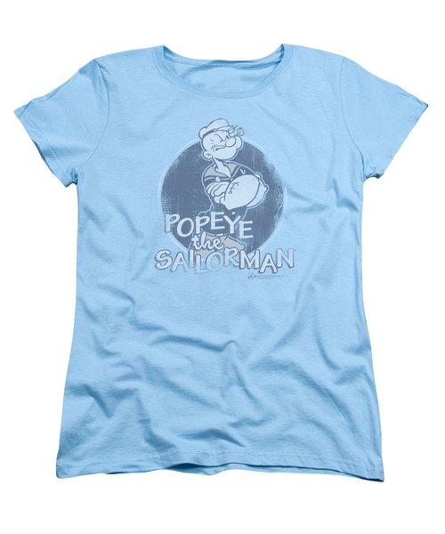 Popeye - Original Sailorman Women's T-Shirt (Standard Cut) by Brand A