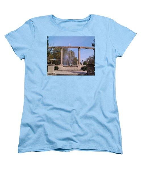Popp Fountain New Orleans City Park Women's T-Shirt (Standard Cut)