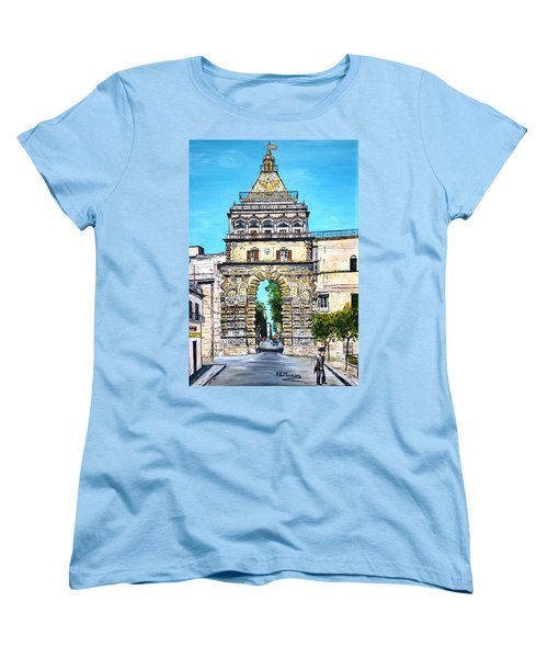 Porta Nuova - Palermo Women's T-Shirt (Standard Cut) by Loredana Messina