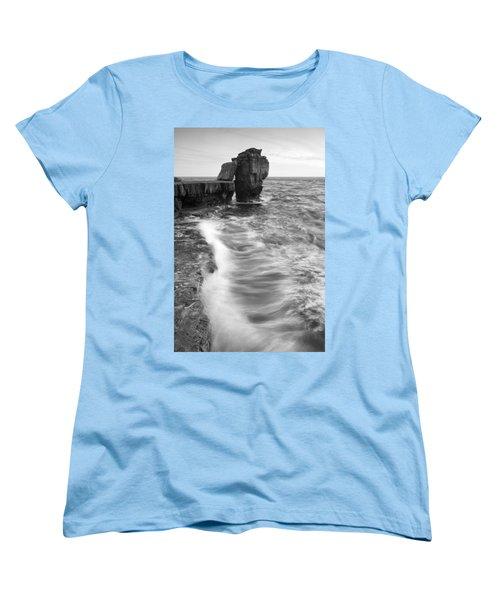 Portland Bill Seascape Women's T-Shirt (Standard Cut)
