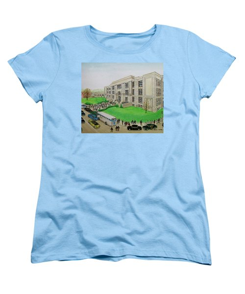 Portsmouth Trojans Travel To An Away Game Women's T-Shirt (Standard Cut) by Frank Hunter