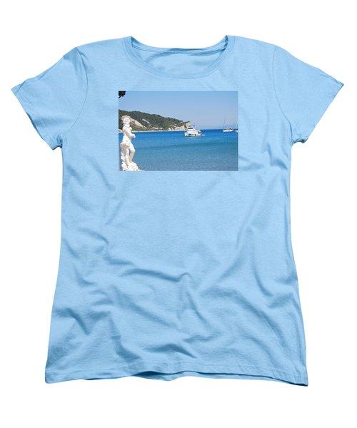 Poseidon 3 Women's T-Shirt (Standard Cut) by George Katechis