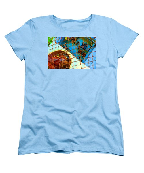 Women's T-Shirt (Standard Cut) featuring the photograph Power Failure by Christiane Hellner-OBrien