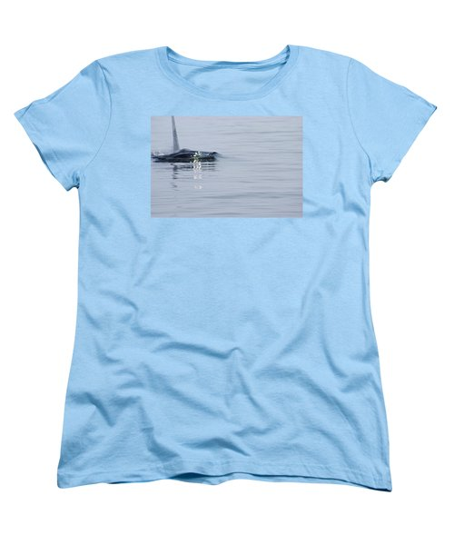Women's T-Shirt (Standard Cut) featuring the photograph Power In Motion by Marilyn Wilson