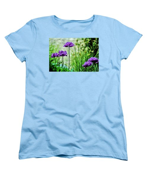 Pretty Purple Women's T-Shirt (Standard Cut)