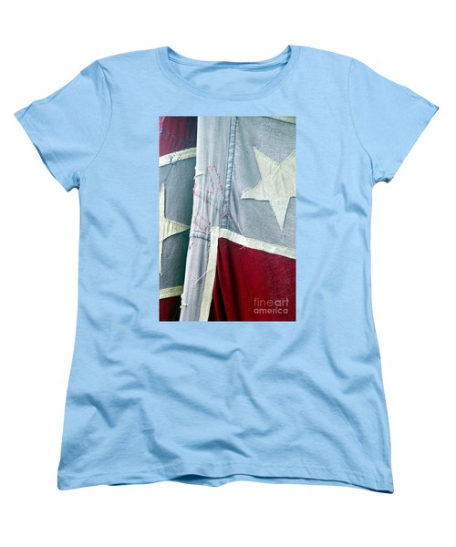 Primitive Flag Women's T-Shirt (Standard Cut) by Valerie Reeves