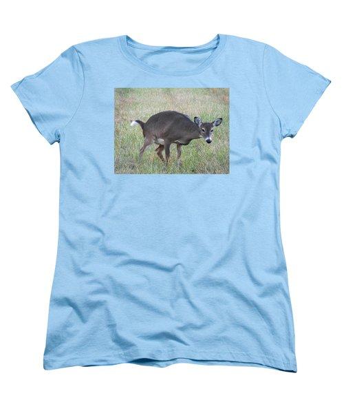 Privacy Please Women's T-Shirt (Standard Cut) by Adam Cornelison