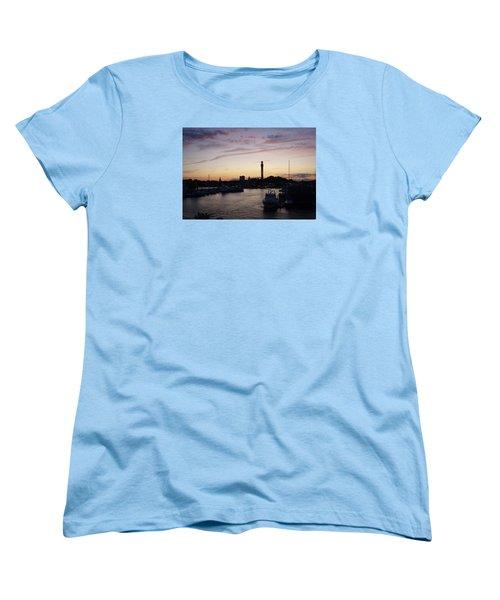 Provincetown Sunset Women's T-Shirt (Standard Cut) by Robert Nickologianis