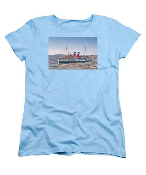 Ps Waverley Approaching Penarth Women's T-Shirt (Standard Cut) by Steve Purnell