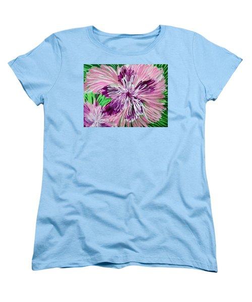 Psychedelic Flower Women's T-Shirt (Standard Cut)