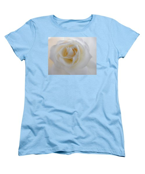 Women's T-Shirt (Standard Cut) featuring the photograph Purity by Deb Halloran