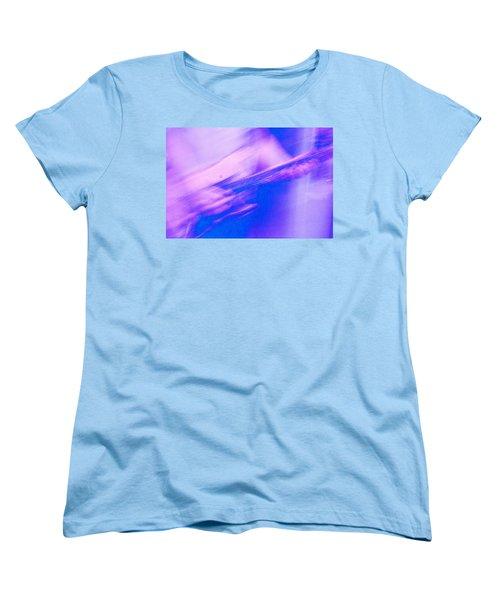 Women's T-Shirt (Standard Cut) featuring the photograph Purple Haze by Alex Lapidus
