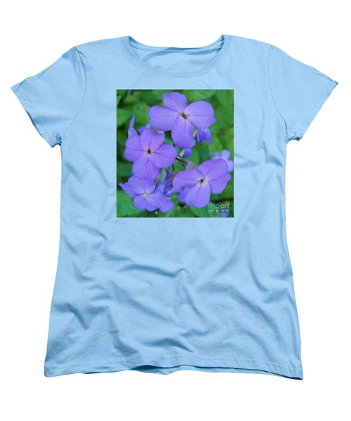 Women's T-Shirt (Standard Cut) featuring the photograph Purple Passion by Sara  Raber