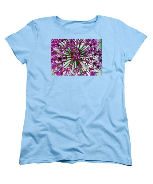 Women's T-Shirt (Standard Cut) featuring the photograph Purple Starlight by Aimee L Maher Photography and Art Visit ALMGallerydotcom