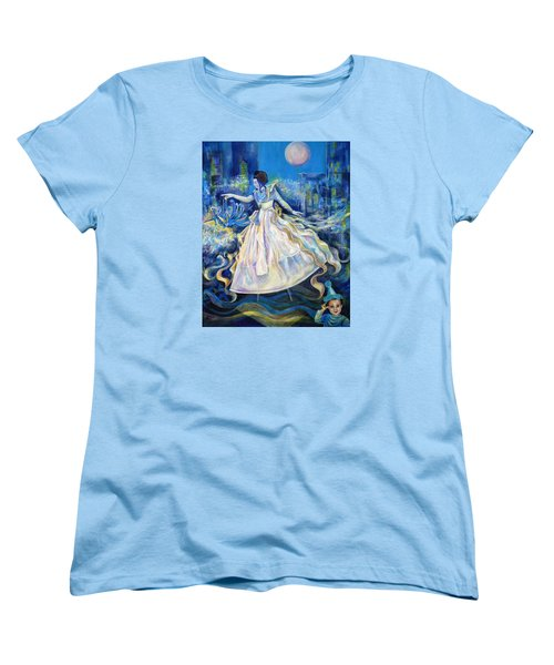 Pursuit Of Happiness Women's T-Shirt (Standard Cut) by Anna  Duyunova