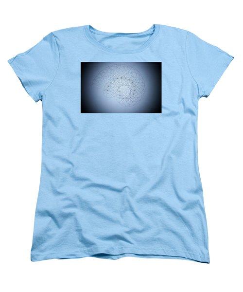 Quantum Nautilus Spotlight Women's T-Shirt (Standard Cut) by Jason Padgett
